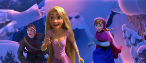 disney characters invasion in Frozen