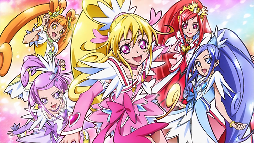 pretty cure achtergrond with anime called Doki Doki Precure