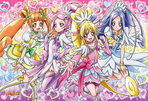 pretty cure 壁紙 containing アニメ called Doki Doki Precure