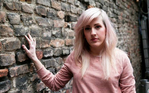 Ellie Goulding Wallpaper Probably With A Bricks And Mortar Street An Outerwear