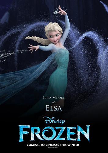 Elsa Poster (Fan made)