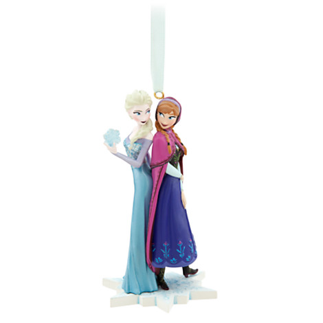 Elsa and Anna Ornament - Frozen from Disney Store