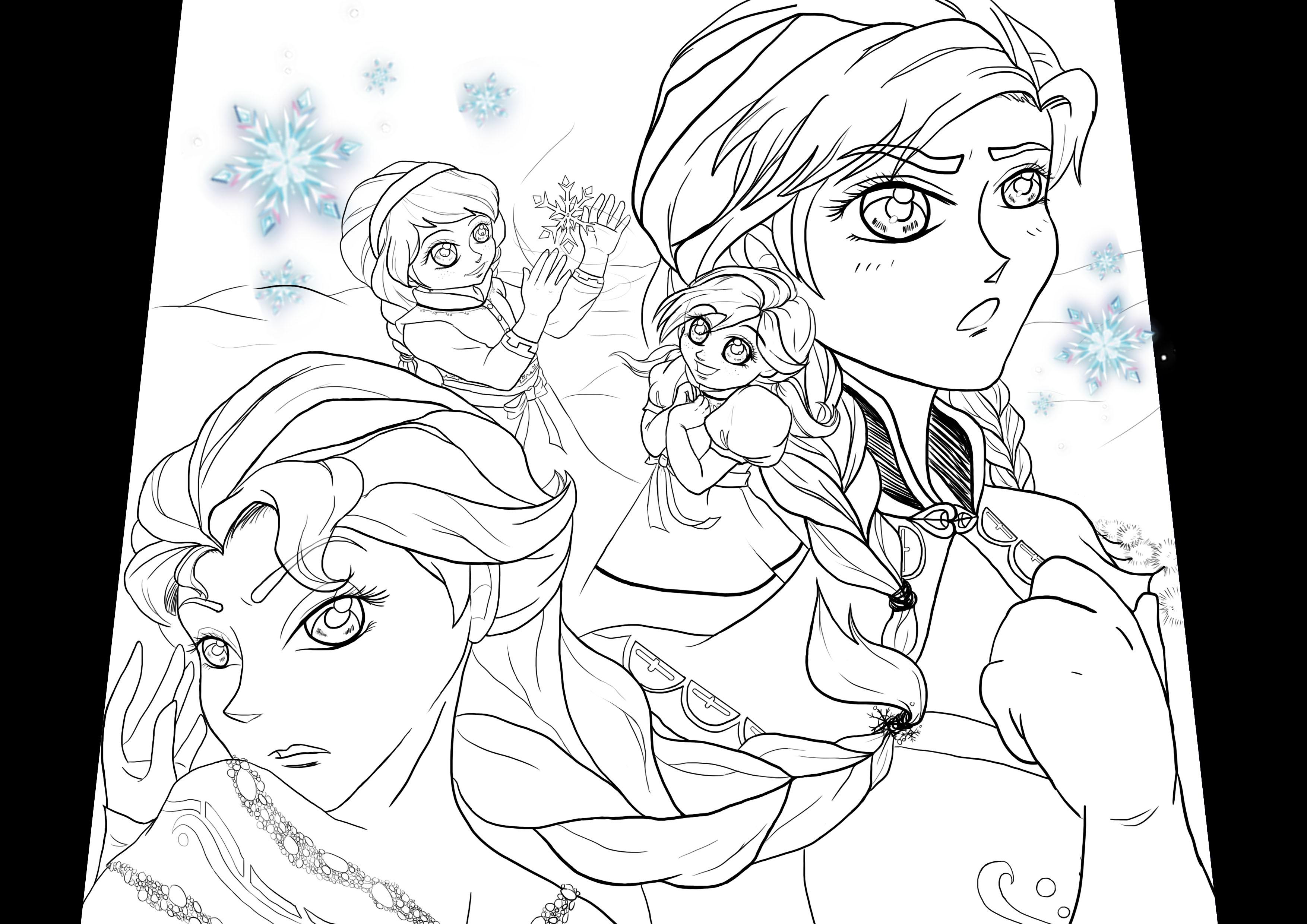 《冰雪奇缘》 图片 elsa and anna hd 壁纸 and background 照片