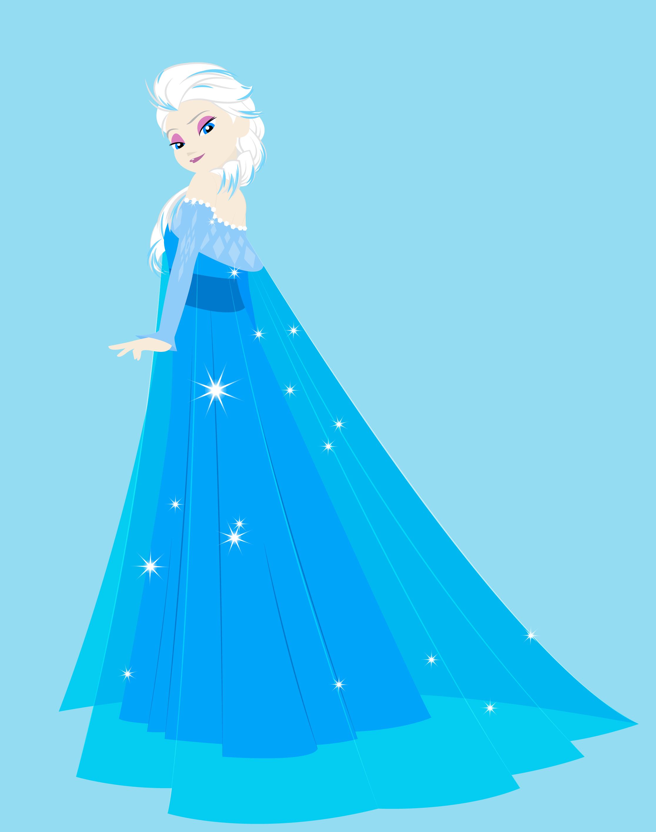 snow queen elsa frozen - photo #31