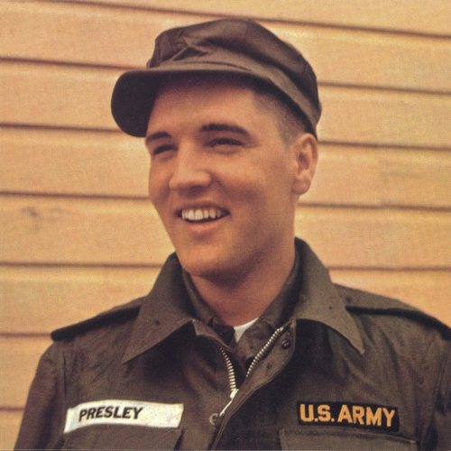 Elvis In Army Uniform
