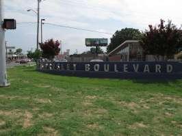 Elvis Presley Boulevard In Memphis, Tennessee