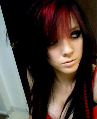 Emo images emo girl wallpaper and background photos 35343778 - Emo scene wallpaper ...
