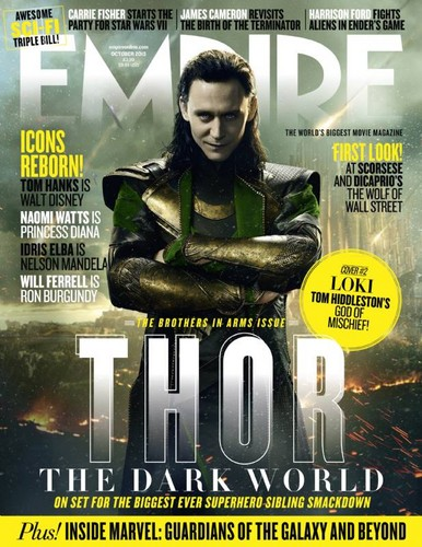 Loki (Thor 2011) fondo de pantalla containing anime titled Empire Magazine