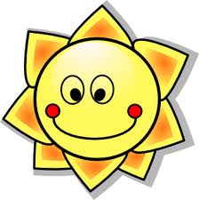 Even the sun is happy!