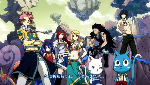 buntot ng engkanto wolpeyper containing anime titled Fairy Tail Guild