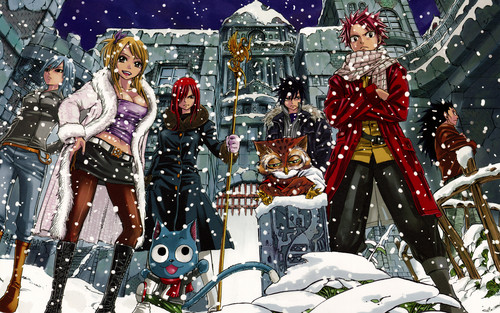 Fairy Tail wallpaper probably with anime titled Fairy Tail Wallpapers