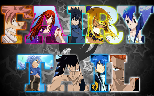 fairy tail fondo de pantalla containing anime called Fairy Tail fondo de pantalla