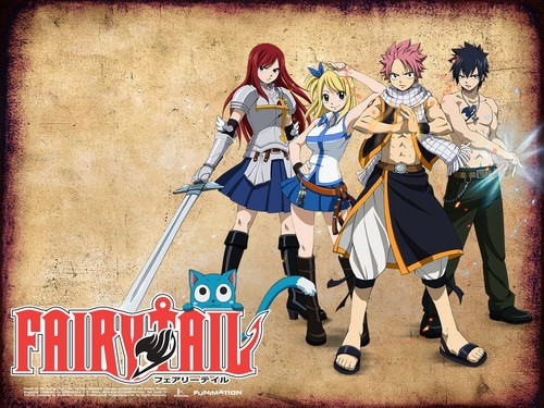 Fairy Tail fonds d'écran