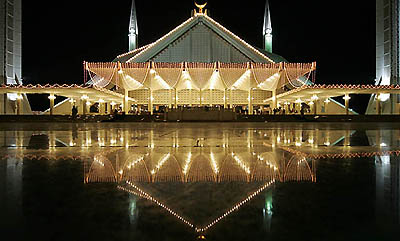 Faisal Mosque Islamabad The Beautiful Photo
