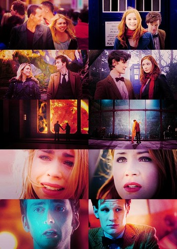 doctor who wallpaper probably with a stained glass window and animê called Fanart :D xxx