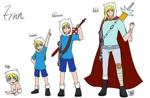 Adventure Time hình nền probably with anime titled Finn The Human