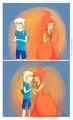 Finn X Flame Princess - flame-princess fan art