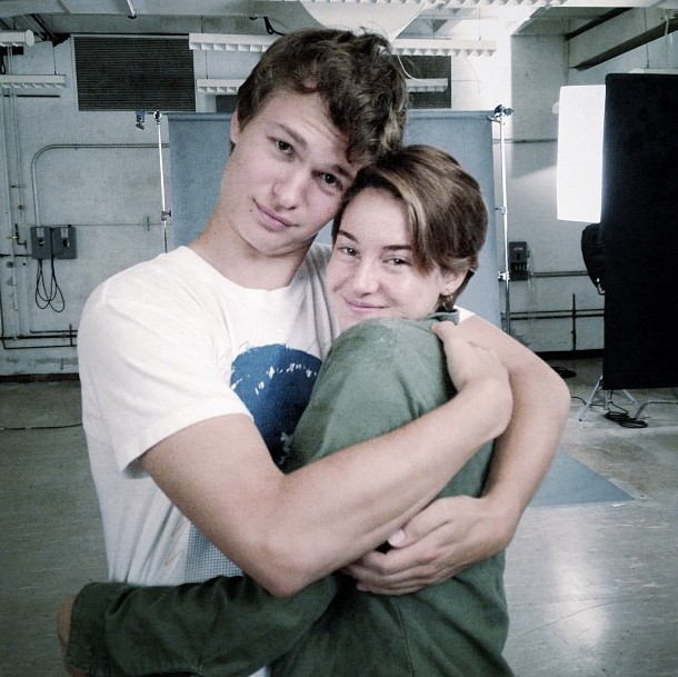 The Fault In Our Stars Movie Augustus Waters And Hazel Grace