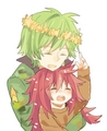 Flippy and Flaky anime human - happy-tree-friends photo