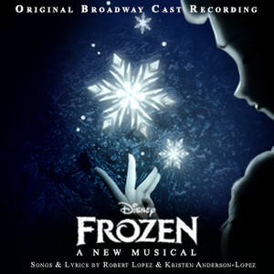 Frozen - A New Musical Album Cover (Fan made)