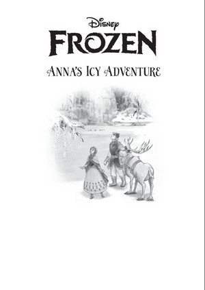 फ्रोज़न - Anna's Icy Adventure Book (Sample Look)