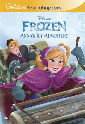 Frozen - Anna's Icy Adventure Book (Sample Look)