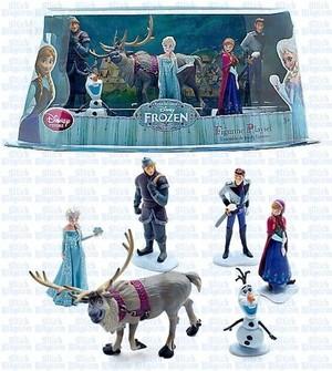 Nữ hoàng băng giá Figurine Set