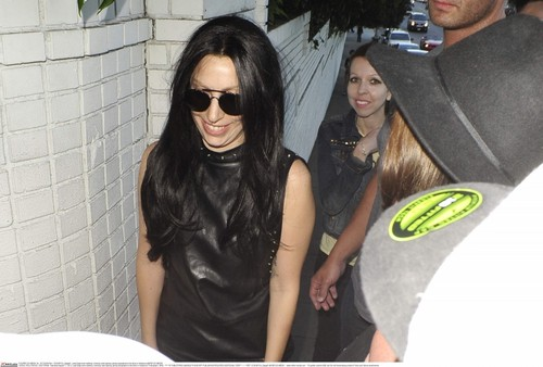 GaGa Arriving at château Marmont, Los Angeles (August 17)