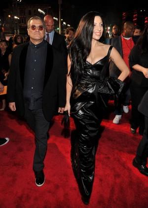 GaGa arraving at the MTV VMA (August 25)