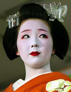 Geishas in our time