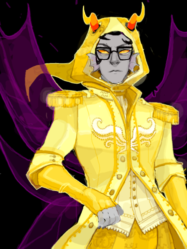 Eridan Ampora wallpaper probably containing anime entitled God tier Eridan