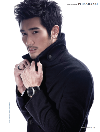 Godfrey Gao wallpaper titled Godfrey [Audrey Magazine]