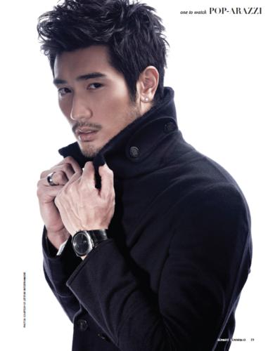 Godfrey Gao fondo de pantalla called Godfrey [Audrey Magazine]