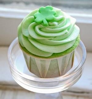 Green कपकेक ♥