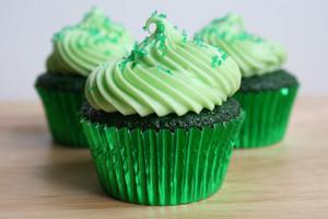 Green Cupcakes ♥