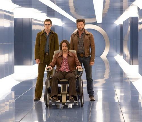 Hank McCoy, Charles Xavier, and Logan