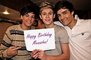 Happy Birthday, Menasha! ಇ