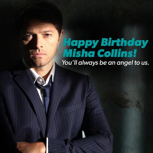 misha collins birthday Misha Collins images Happy Birthday Misha! wallpaper and  misha collins birthday