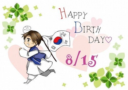 Happy Birthday South Korea!~ <3