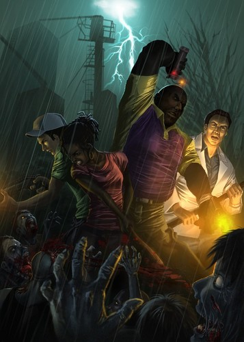 left 4 dead 2 wallpaper entitled Hard Rain