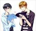 Haruka and Makoto (Free!)
