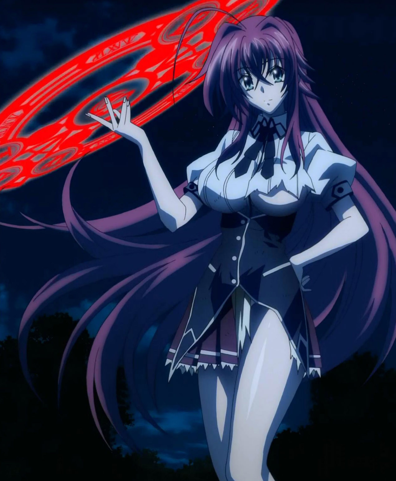 High School DxD Female Character Contest: Round 12 Arabian