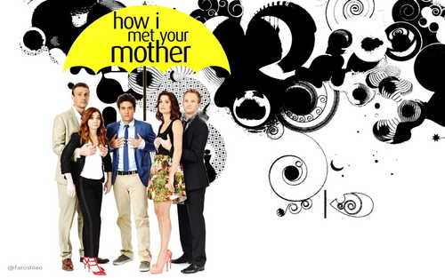 How I Met Your Mother wallpaper possibly with a sign entitled How I Met Your Mother wallpaper