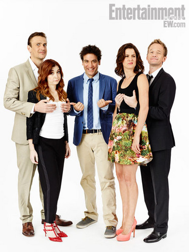 How I met Your Mother EW outtakes- comic con 2013