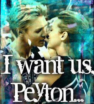 I WANT US, PEYTON...