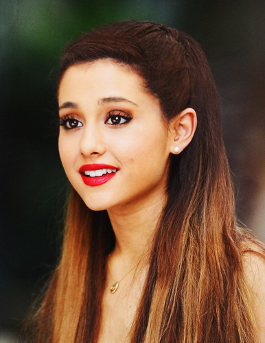 Ariana Grande wallpaper containing a portrait titled I love Ariana! <3