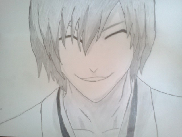 Art Animal Drawing Ichimaru Gin Drawing-anime