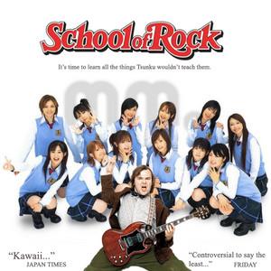 J pop morning musume with School Of Rock Jack Black