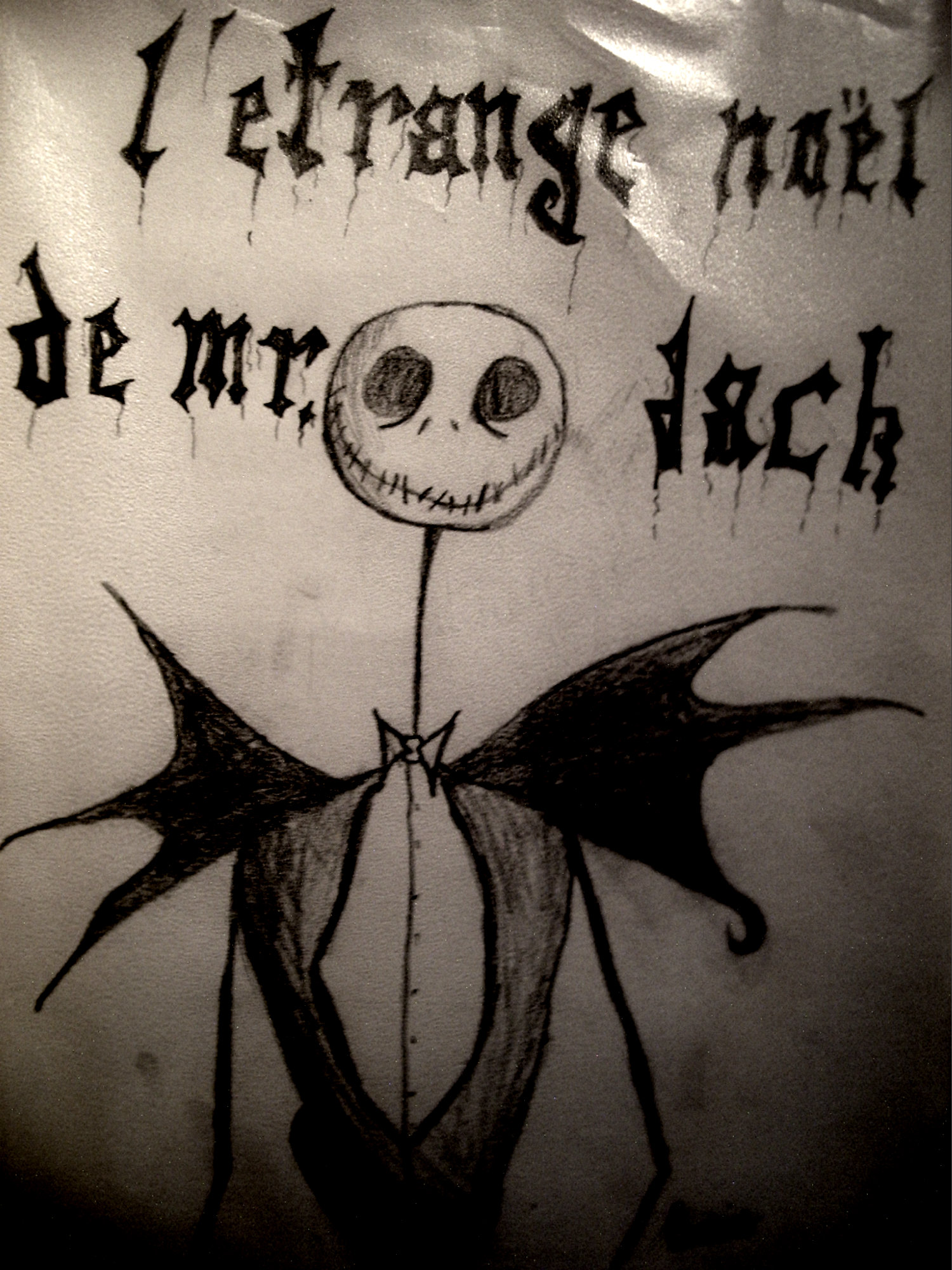 Nightmare Before Christmas In French.Jack In French D Nightmare Before Christmas Fan Art