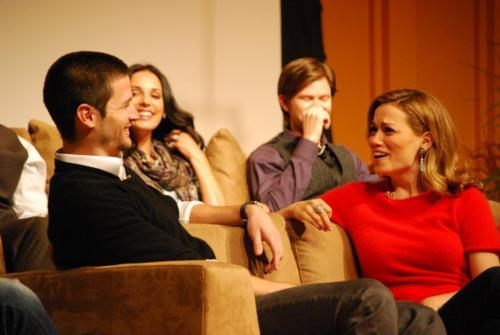 James Lafferty & Bethany Joy Lenz